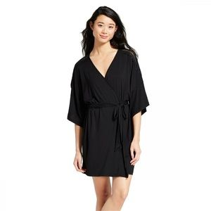 Lace Shoulder Robe